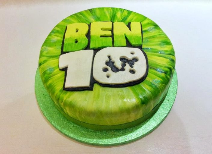 Ben 10 birthday cake - Quality Cake Company Tamworth