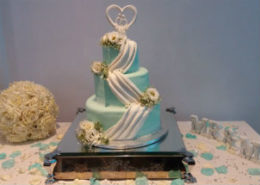 Swag Wedding Cake