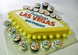 Las Vegas Sign Cake - Quality Cake Company Tamworth