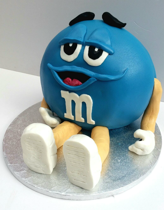 M & M Surprise Cake - Quality Cake Company Tamworth