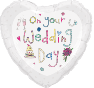 wedding day balloon