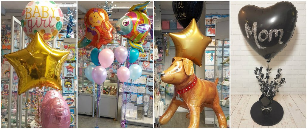 Balloons for all occasions - tamworth, birmingham, atherstone, sutton coldfield