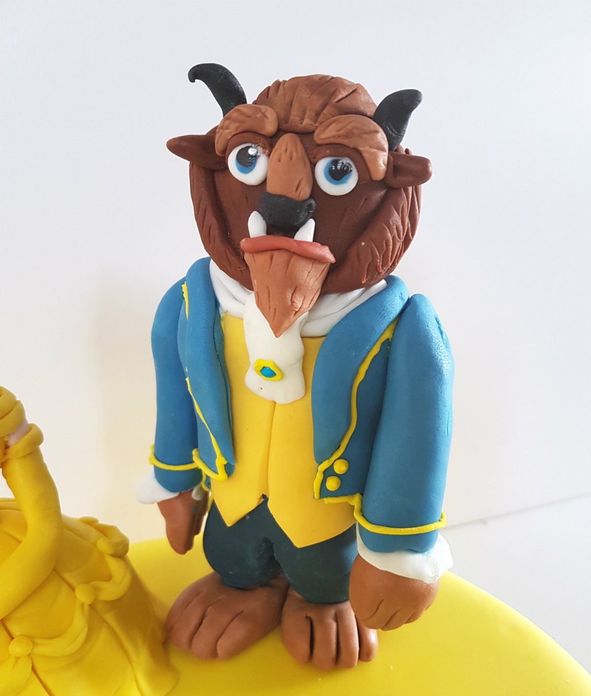 Beauty & the Beast birthday cake - the beast