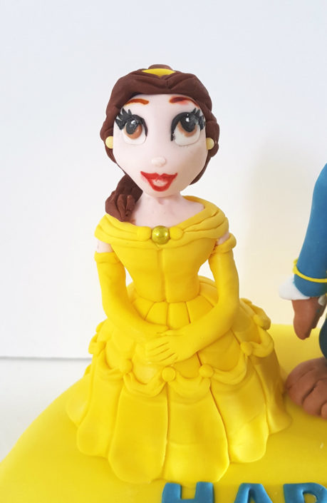 Beauty & the Beast birthday cake - Belle / Beauty