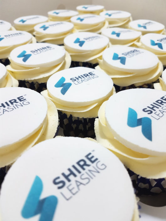 Corporate Cupcakes - shire leasing