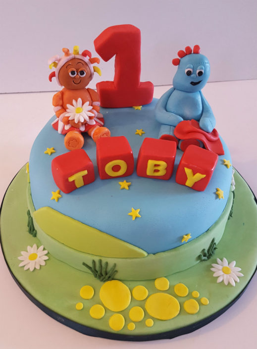 Iggle Piggle In the Night Garden cake