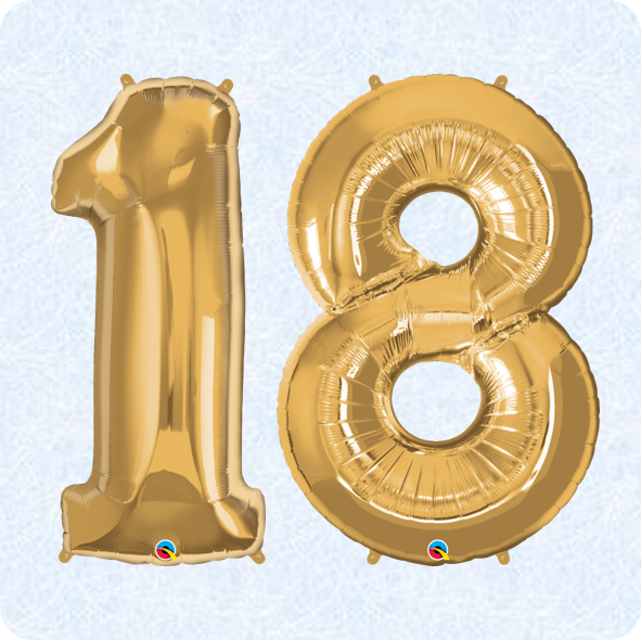 18th Birthday Balloons Partyware Quality Cake Company Tamworth