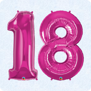 18th Birthday Balloons Party Supplies