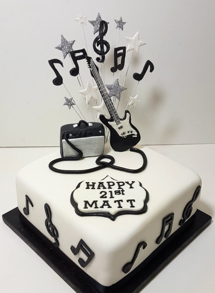 Music Themed Cakes Quality Cake Company Tamworth