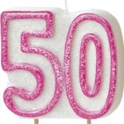 50th birthday party cake candle Tamworth