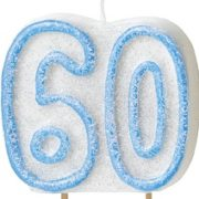 60th birthday party cake candle Tamworth