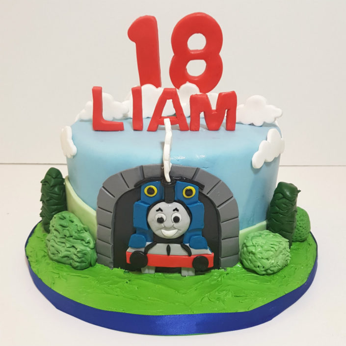 18th birthday thomasland birthday cake Tamworth