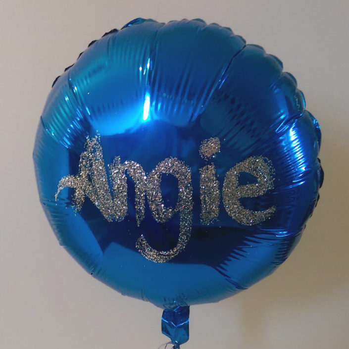 personalised balloon tamworth