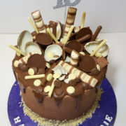 chocolate sweetie drip birthday cake tamworth