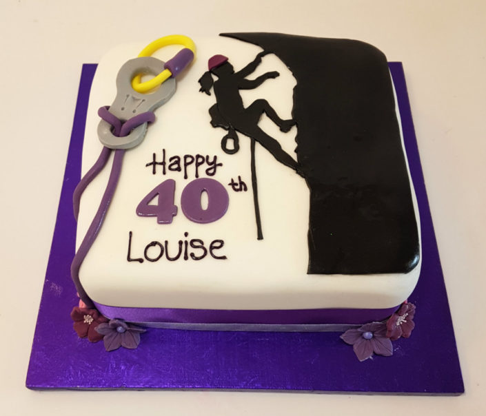 climbing theme birthday cake tamworth