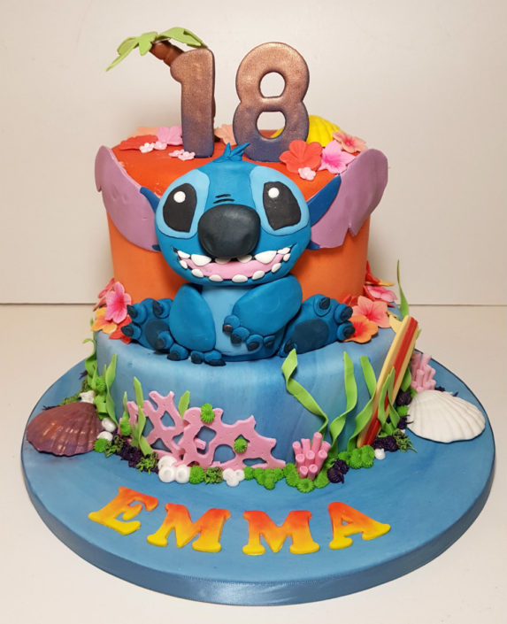 Lilo & Stitch 18th birthday cake Tamworth