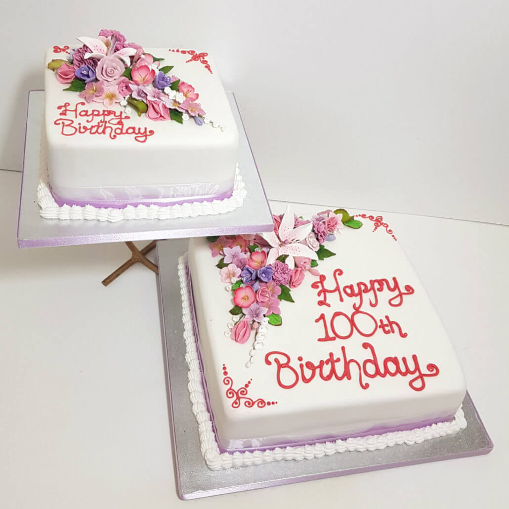 Floral Flower Theme Cakes Quality Cake Company Tamworth