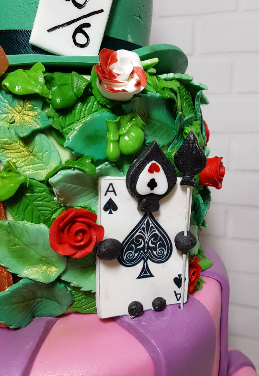 Tiered Alice In Wonderland Theme Cake Quality Cake