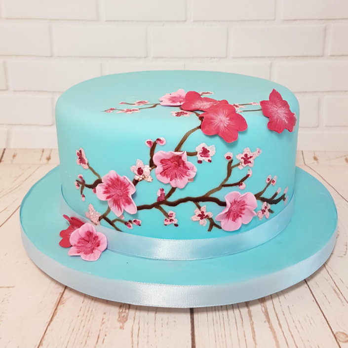Mother's Day Cherry Blossom Cake - Tamworth