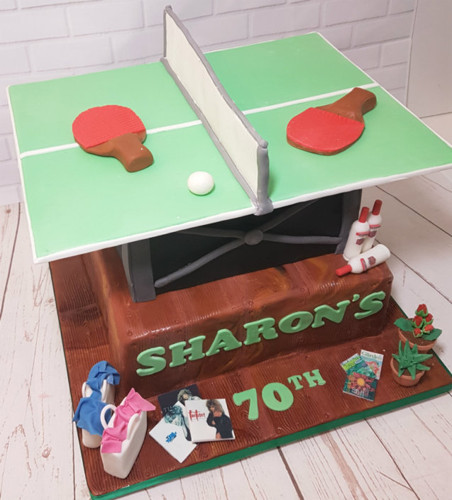 Two tier table tennis table - Tamworth