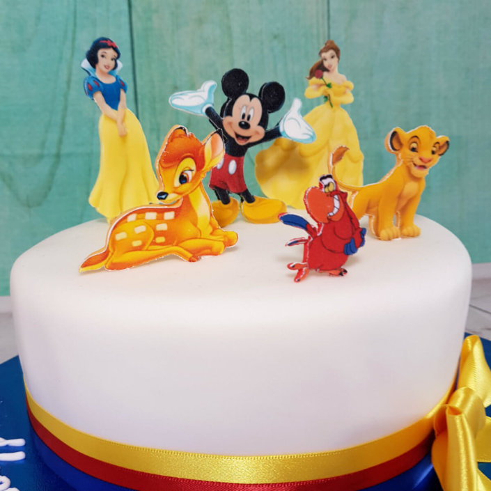 Disney theme birthday cake - Tamworth