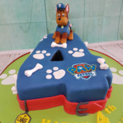 Paw Patrol 4 shape children's birthday cake - Tamworth