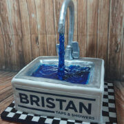 Bristan kitchen tap novelty cake - Tamworth
