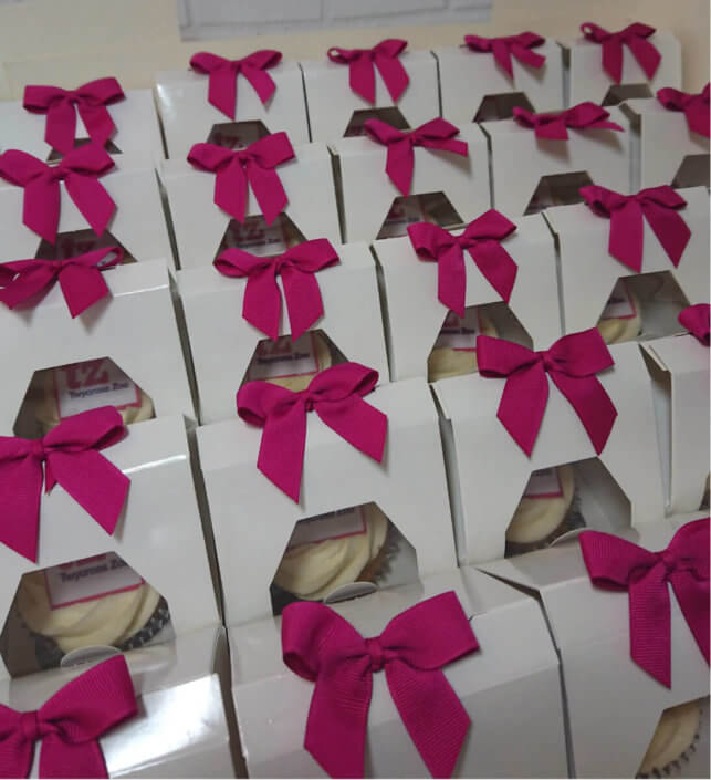 Corporate Cupcake Favours - Tamworth, Birmingham