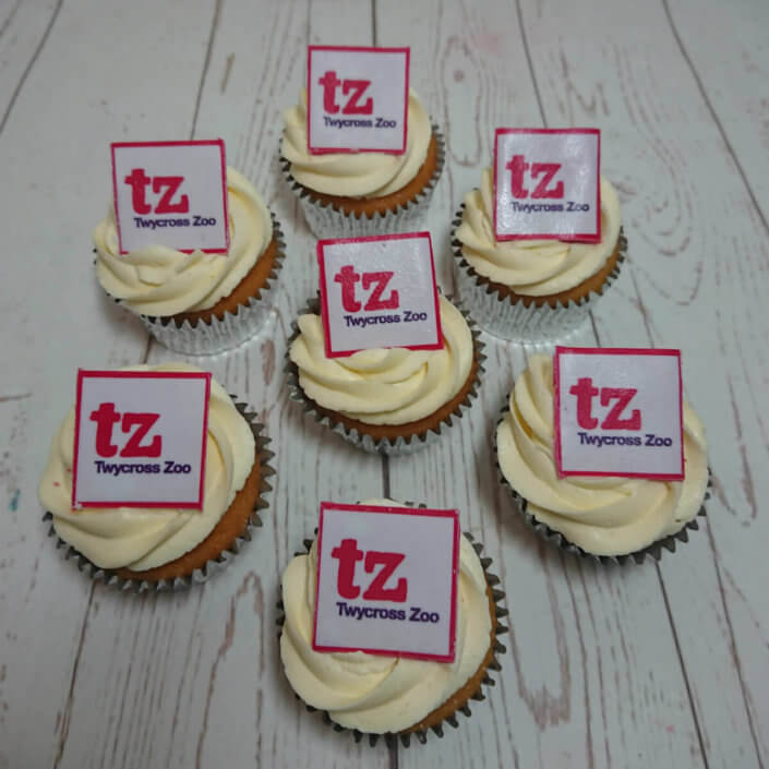 Twycross zoo corporate cupakes - Tamworth