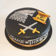 Game of Thrones theme birthday cake - Tamworth