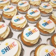 Bristan SHINE corporate cupcakes - Quality Cake Company Tamworth