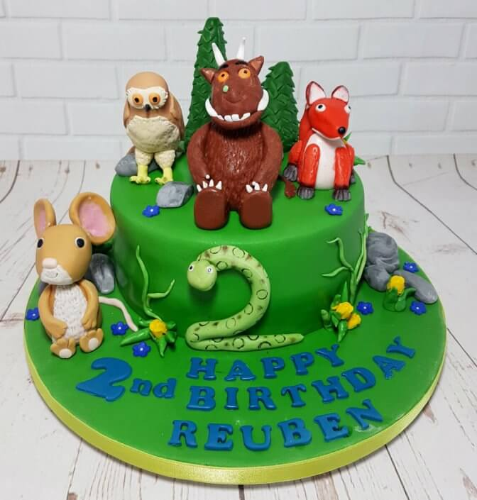 Gruffalo and friends children's birthday cake - Quality Cake Company Tamworth