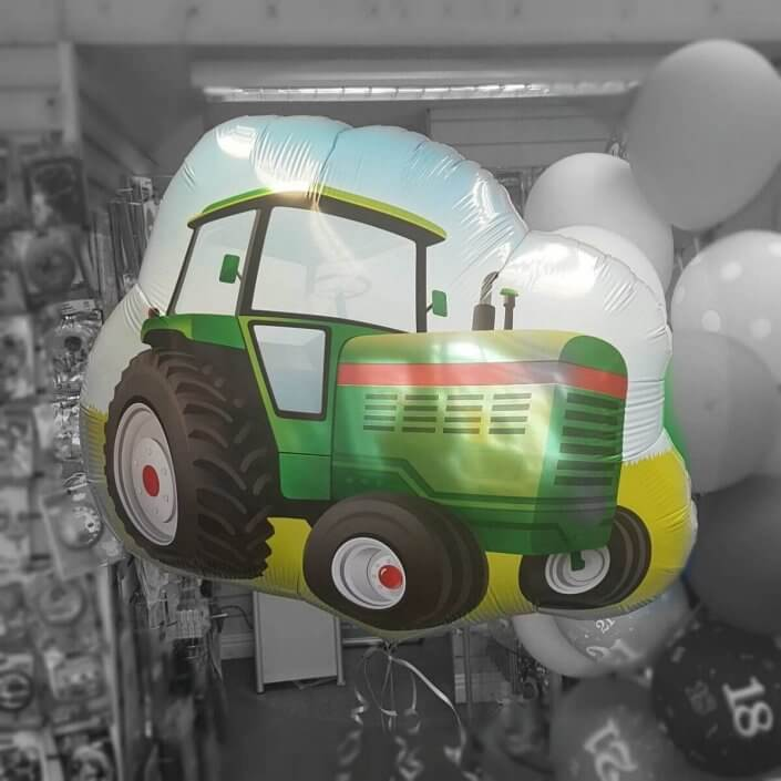 Tractor helium balloon - Quality Cake Company tamworth