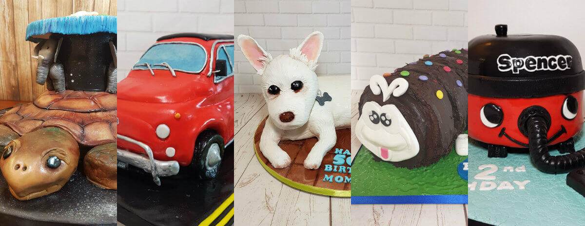novelty cake designs from Quality Cake Company - Tamworth