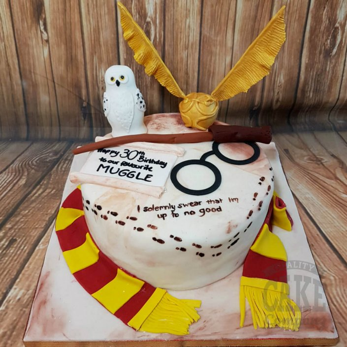 Herry potter theme birthday cake - tamworth