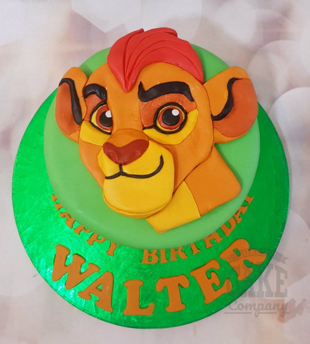 Lion Guard birthday cake - tamworth