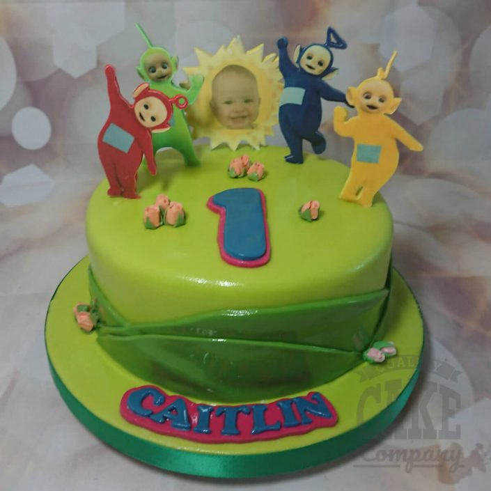 Teletubbies birthday cake - tamworth
