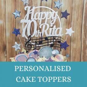 Personalised cake toppers - Quality Cake Company Tamworth, West Midlands