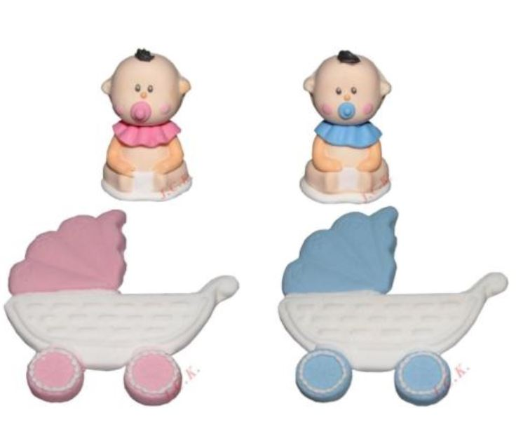 Baby pram cake decoration - Tamworth West Midlands