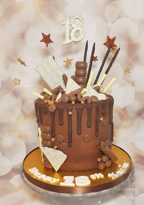 Chocolate drip cake - Tamworth west midlands
