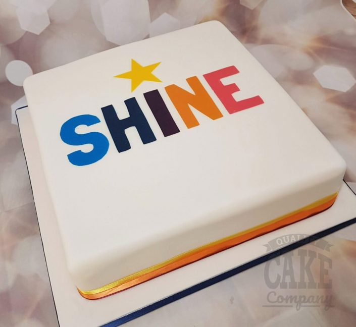 Bristan shine awards corporate large cake - Tamworth West Midlands