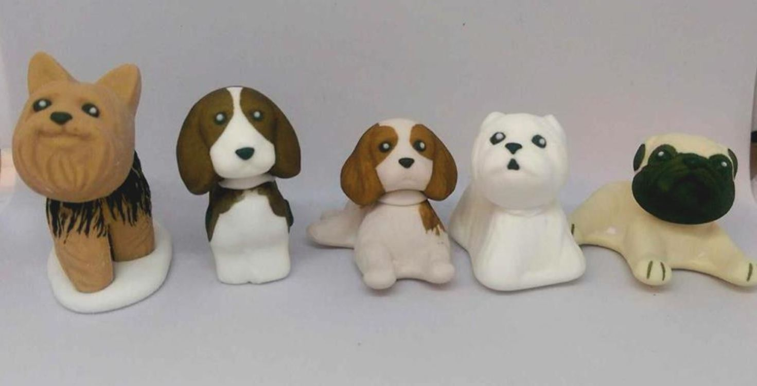 Dogs Icing sugar cake decoration - Tamworth West Midlands
