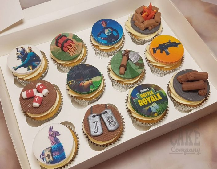 Fortnite game theme cupcakes - tamworth west midlands
