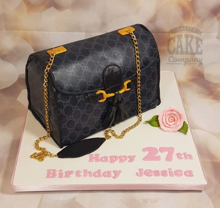 Gucci handbag printed cake - Tamworth