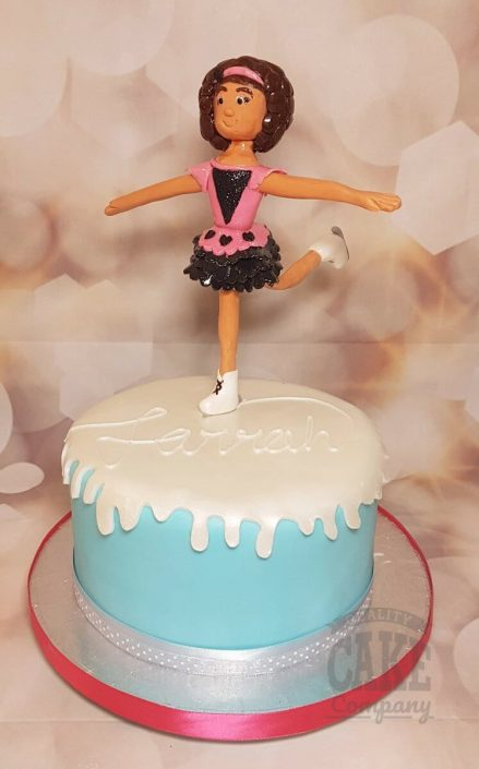 Ice skating girl figure birthday cake - Tamworth West Midlands