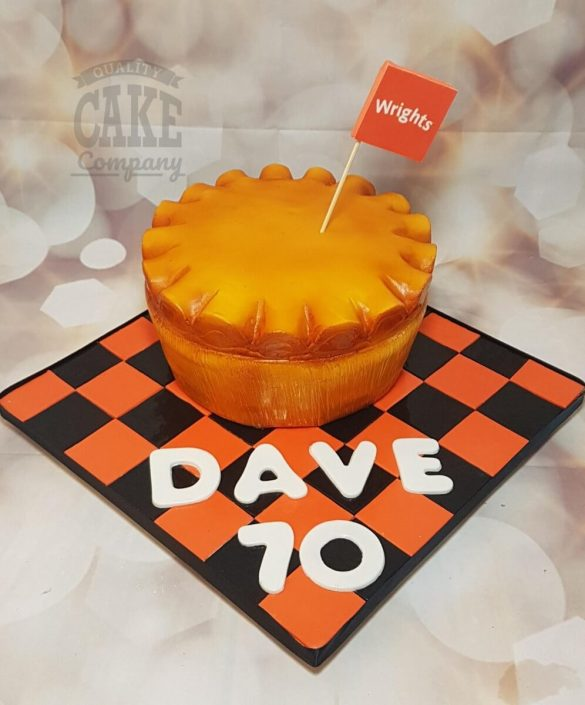 Wrights pie novelty bithday cake - Tamworth West Midlands