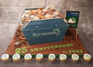 novelty skip made from cake reconomy and cupcakes - Tamworth West Midlands