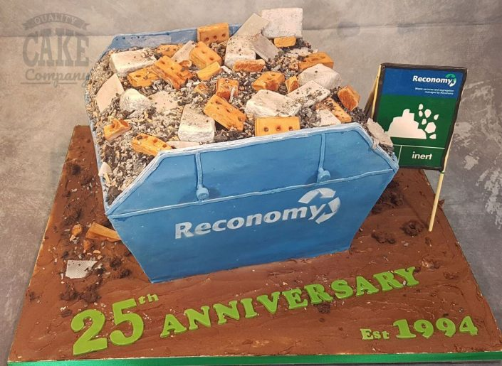 novelty skip made from cake reconomy - Tamworth West Midlands