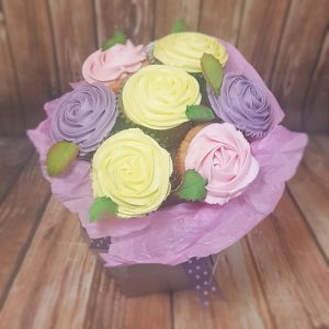 Cupcake bouquet Mother's Day gift idea - Tamworth, West Midlands