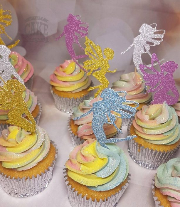 Fairies custom cake cupcake toppers - Tamworth